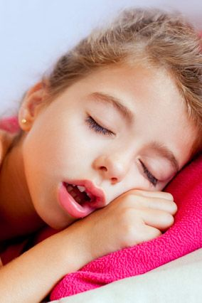 picture of child sleeping